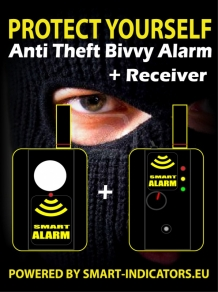 Anti Theft Bivvy Alarms