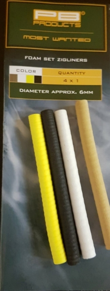 PB Products Nymph//Snail Zigliners and Foam Set Zig-Systems For Carp Fishing