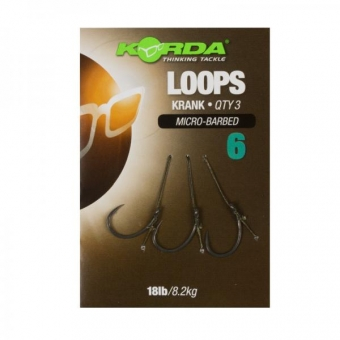 Korda Krank Loops Ready Tied Rigs